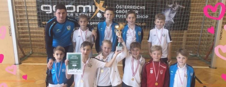 Sieg von unserer U12 beim Hallenmasters in Liezen