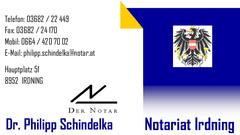 Der Notar - Dr. Philipp Schindelka